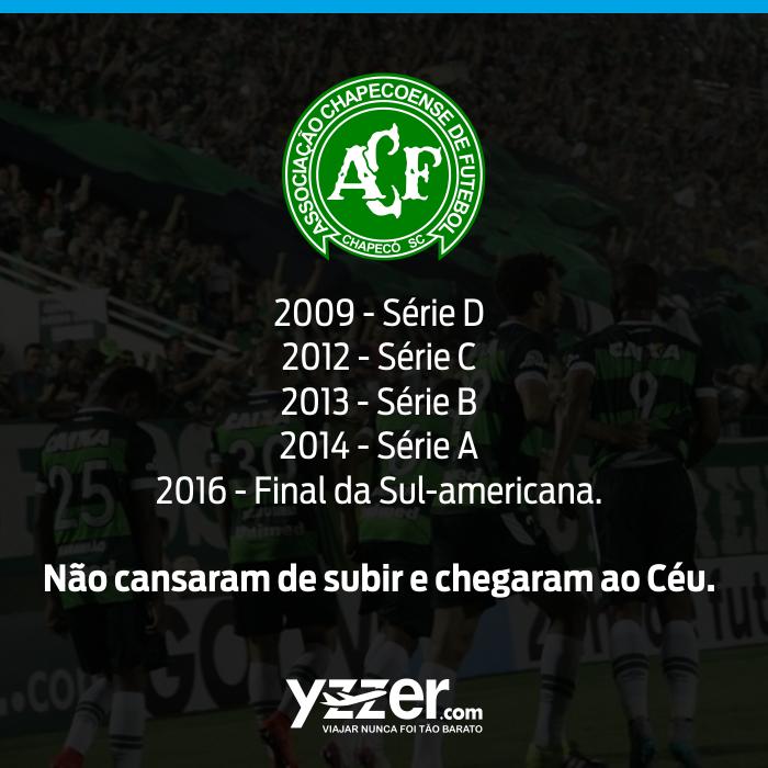 Yzzer faz homenagem à Chapecoense - #ForçaChape!