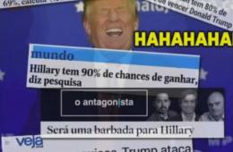 Donald Trump ridicularizado na mídia brasileira: estavam todos errados