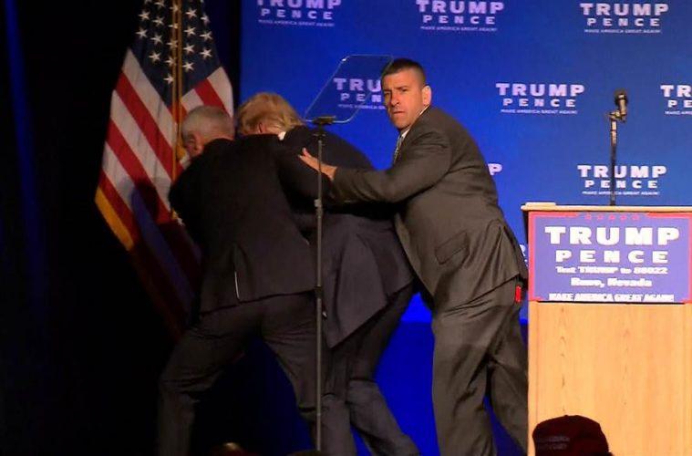 Donald Trump sofre tentativa de atentado em Rino, Nevada