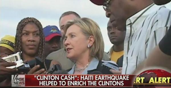 Fox News: dinheiro doado após terremoto no Haiti ajudou a enriquecer os Clinton