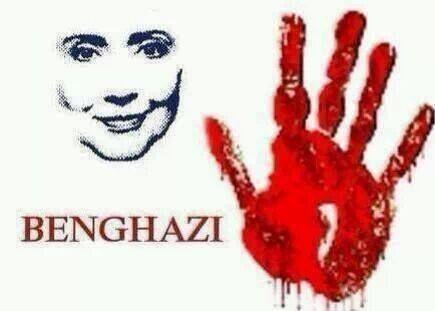 Hillary Clinton sobre Benghazi: sangue nas mãos