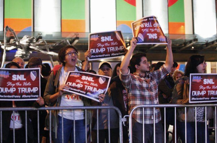 Protesto contra Donald Trump