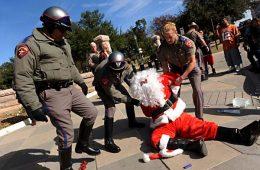 Papai Noel preso