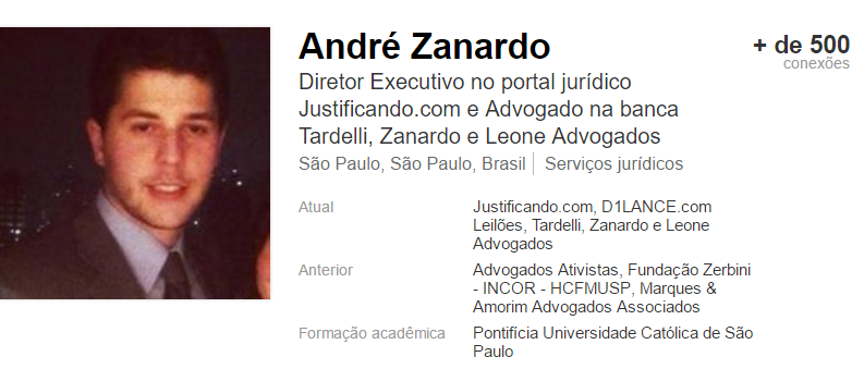 André Zanardo - Linkedin