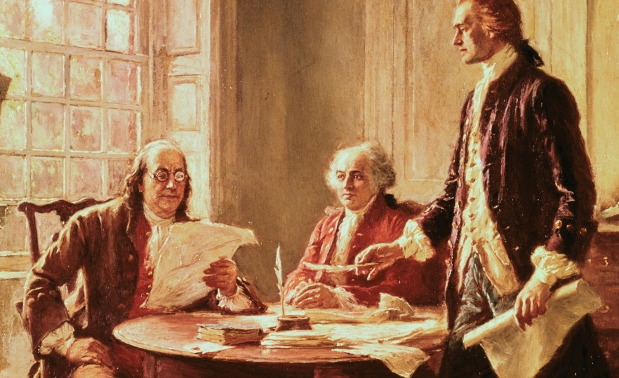 Founding Fathers, Pais Fundadores da América