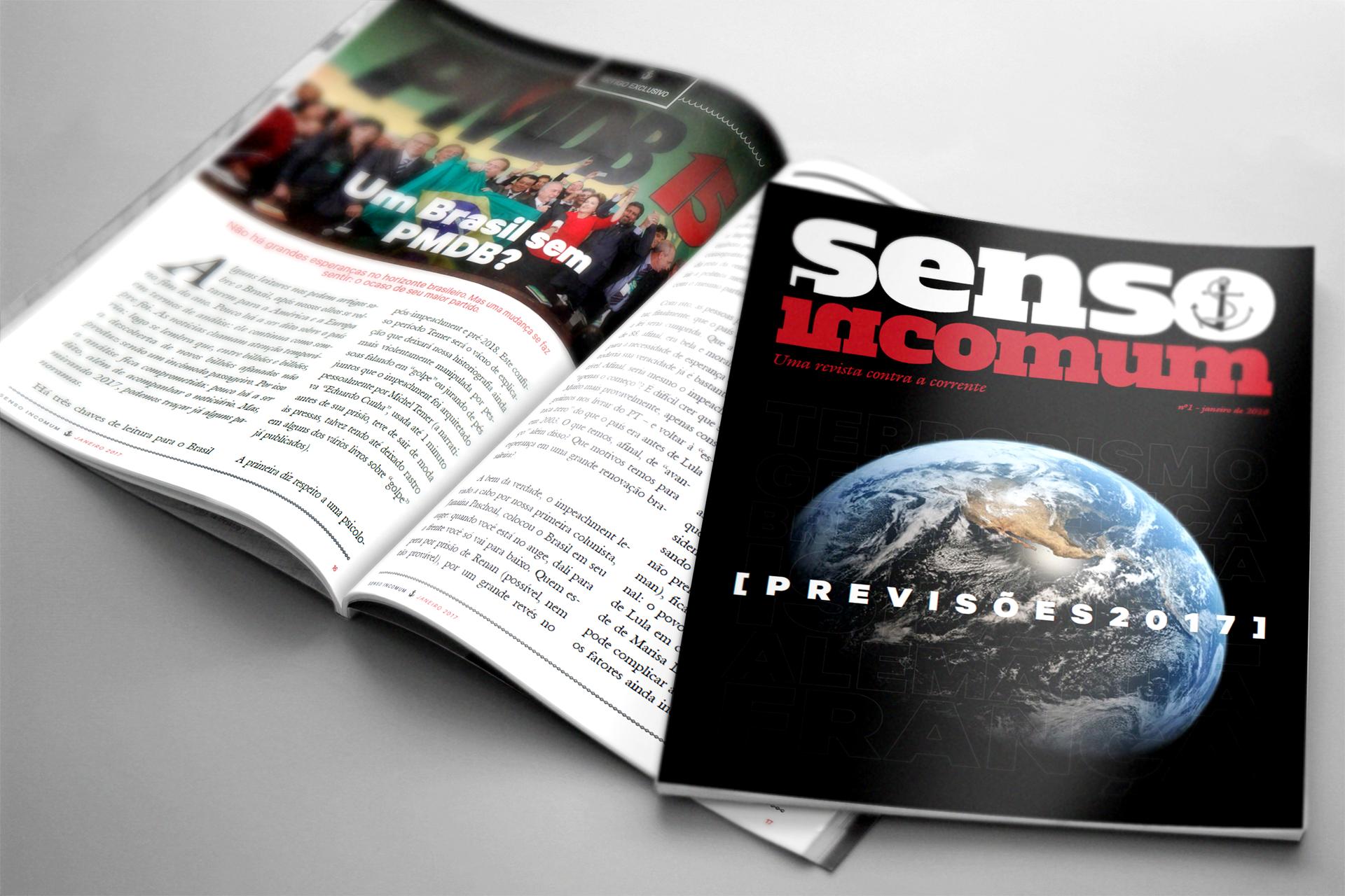 Revista Senso Incomum edição #2: Previsões 2017