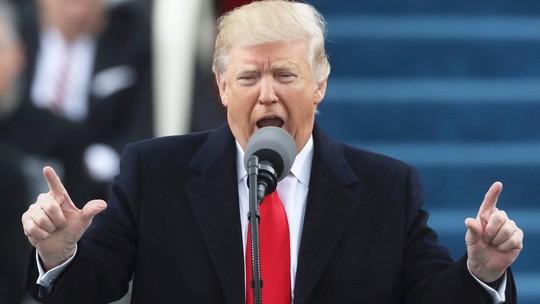 Donald Trump faz discurso de posse