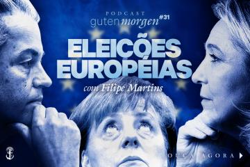 Eleições Européias Marine Le Pen na França, Angela Merkel na Alemanha, Geert Wilders na Holanda