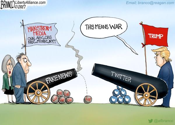 Guerra da Mídia Contra Você, Conservador, Cristãos, Trump, Bolsonaro