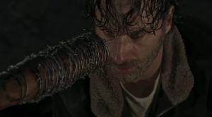 Nunca reaja, Rick Grimes desarmado, Lucille