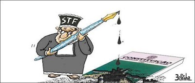 STF pinta a Constituição