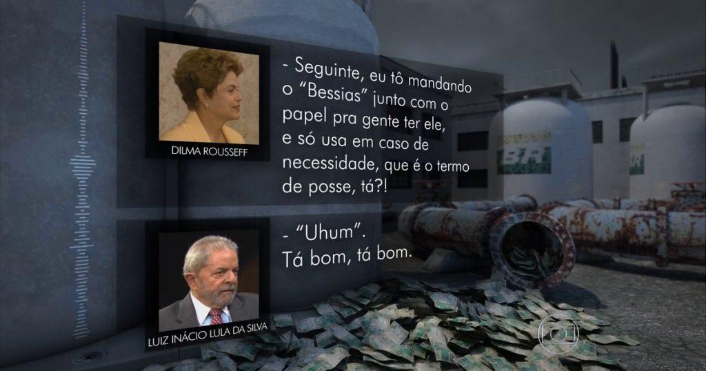 Dilma Rousseff, Bessias, Lula, termo de posse