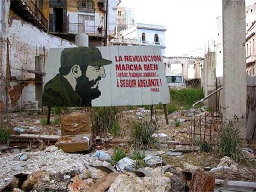 """Fidel Castro: """"La revolucion marcha bien""""."""