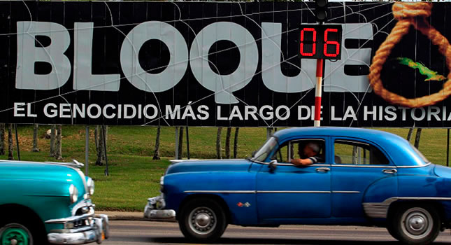 Embargo americano a Cuba