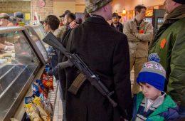 Texano armado comemora novas regras para carregar armas no Texas
