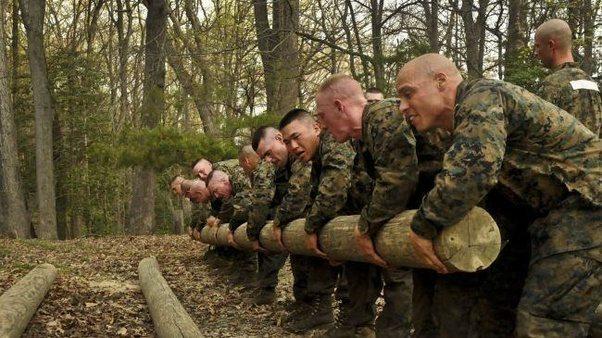 Treinamento dos Marines