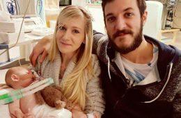 Charlie Gard e família