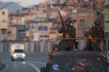 Forças Armadas no Rio de Janeiro.