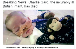 "New York Times chama Charlie Gard de ""bebê irrecuperavelmente doente"""