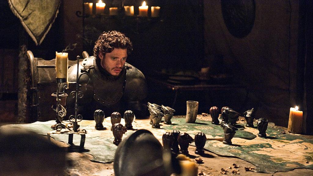 Robb Stark planeja a guerra