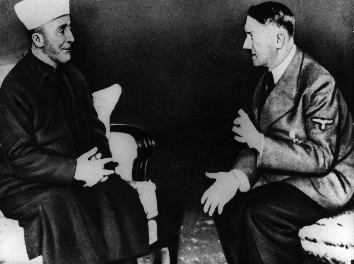 "Adolf Hitler e o ""Grande Mufti de Jerusalém"", Amin al-Hussein"