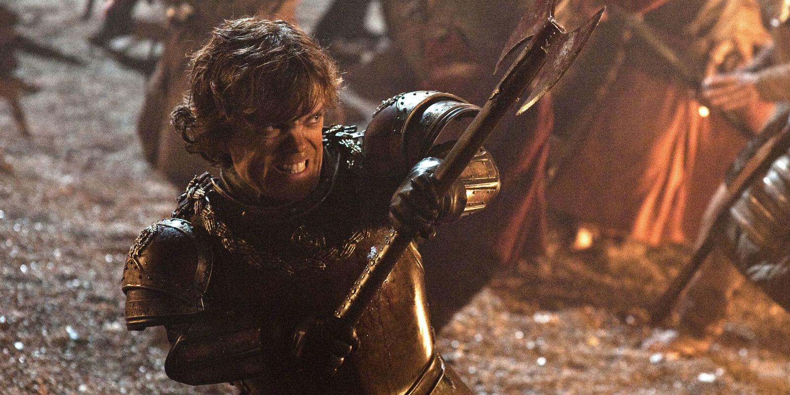 Tyrion Lannister vai para a luta