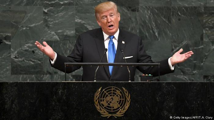 Donald Trump discursa na ONU