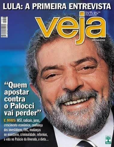"""Entrevista de Lula à Veja: """"Quem apostar contra o Palocci vai perder"""""""