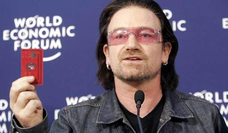 Bono Vox esquerda caviar
