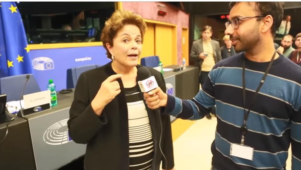 Dilma fala que é work-alcoholic