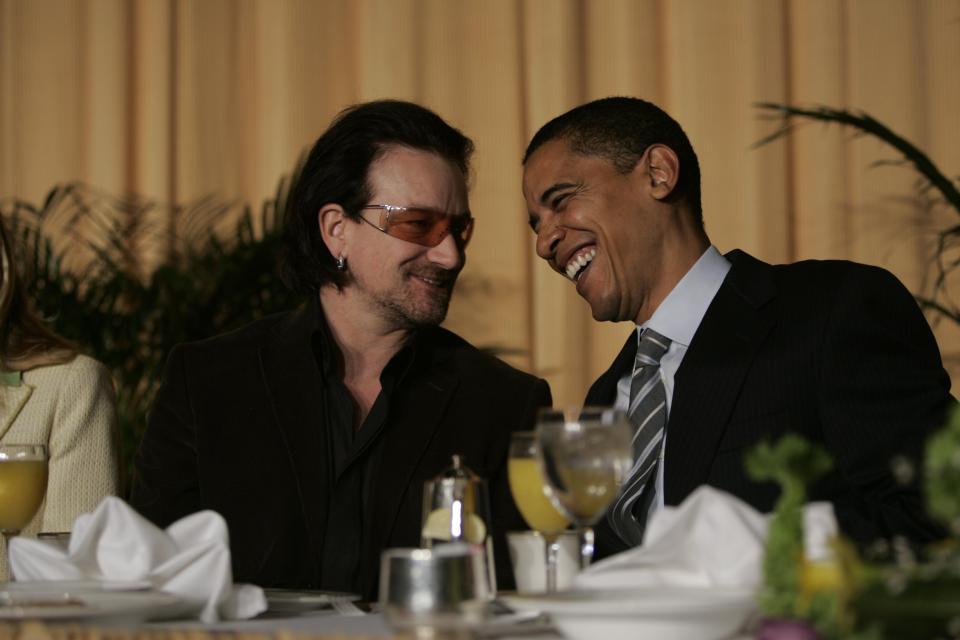 Bono Vox Obama Socialistas impostos