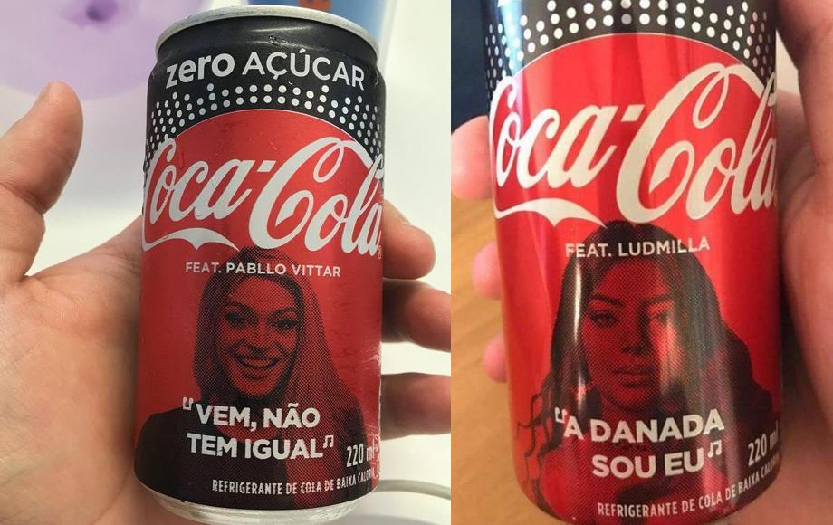 Coca-Cola com Pabllo Vittar e Ludmilla