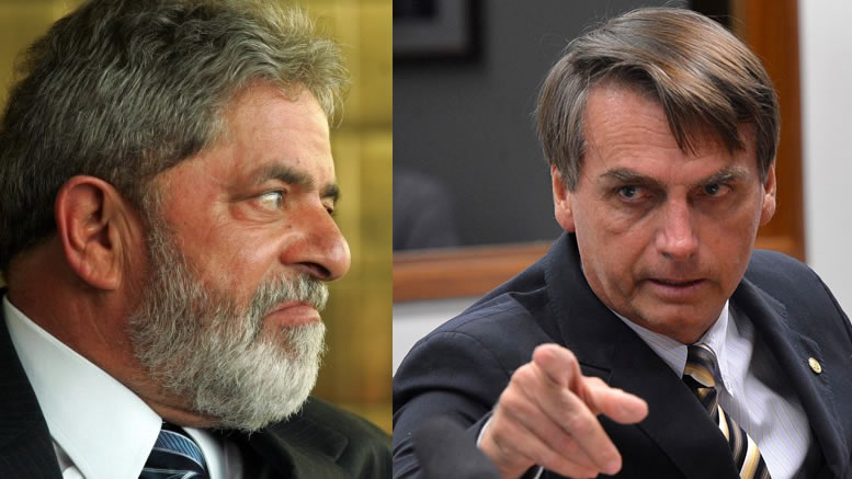 Lula x Bolsonaro no Datafolha