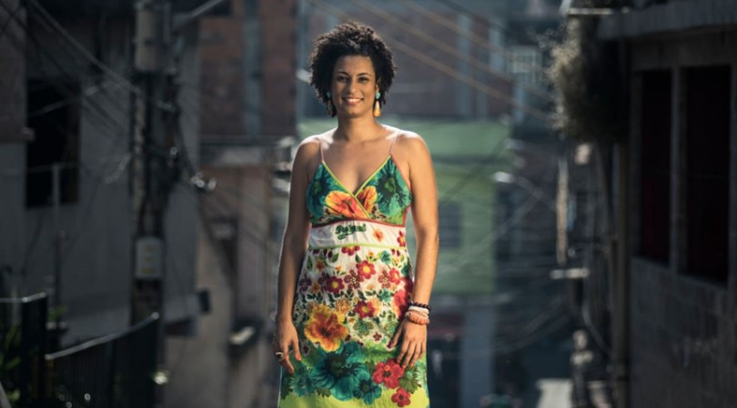 Marielle Franco, vereadora do PSOL assassinada