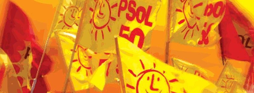 Bandeiras do PSOL