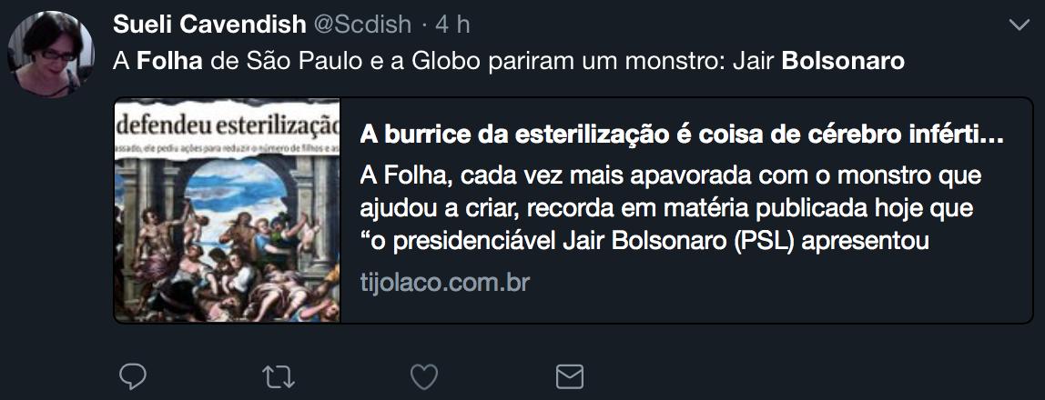 Tijolaço chama fake news sobre esterilização forçada de nazista e trouxas divulgam