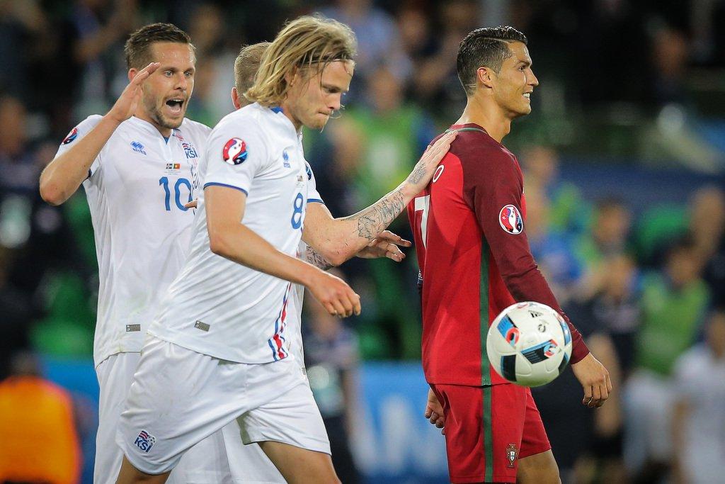 Islândia enfrenta Portugal de Cristiano Ronaldo na Eurocopa