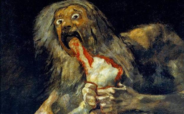 Goya - Saturno devora seu próprio filho