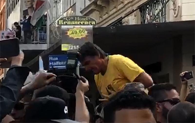 Bolsonaro esfaqueado