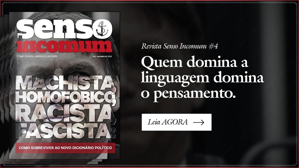 Revista 04 - Machista, homofóbico racista - Como sobreviver ao novo dicionário político