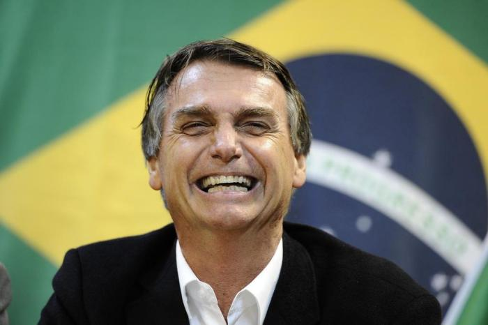 Bolsonaro bandeira Brasil