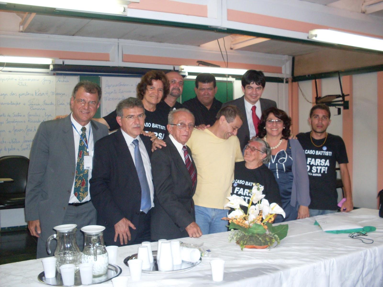 Battisti recebe apoio do PSOL