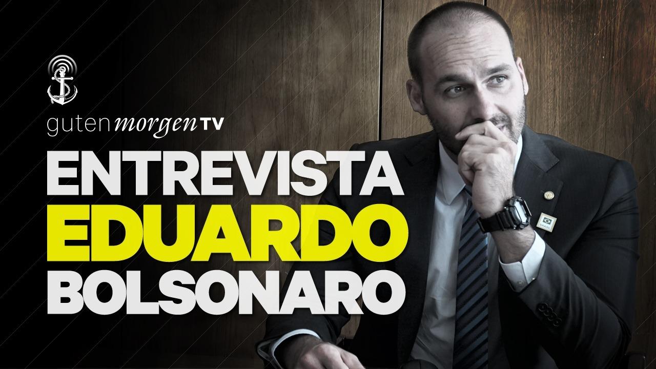 Guten Morgen TV entrevista Eduardo Bolsonaro