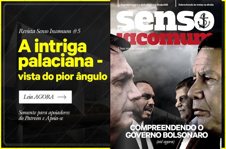 Revista Senso Incomum 5 - Compreendendo o governo Bolsonaro (até agora)