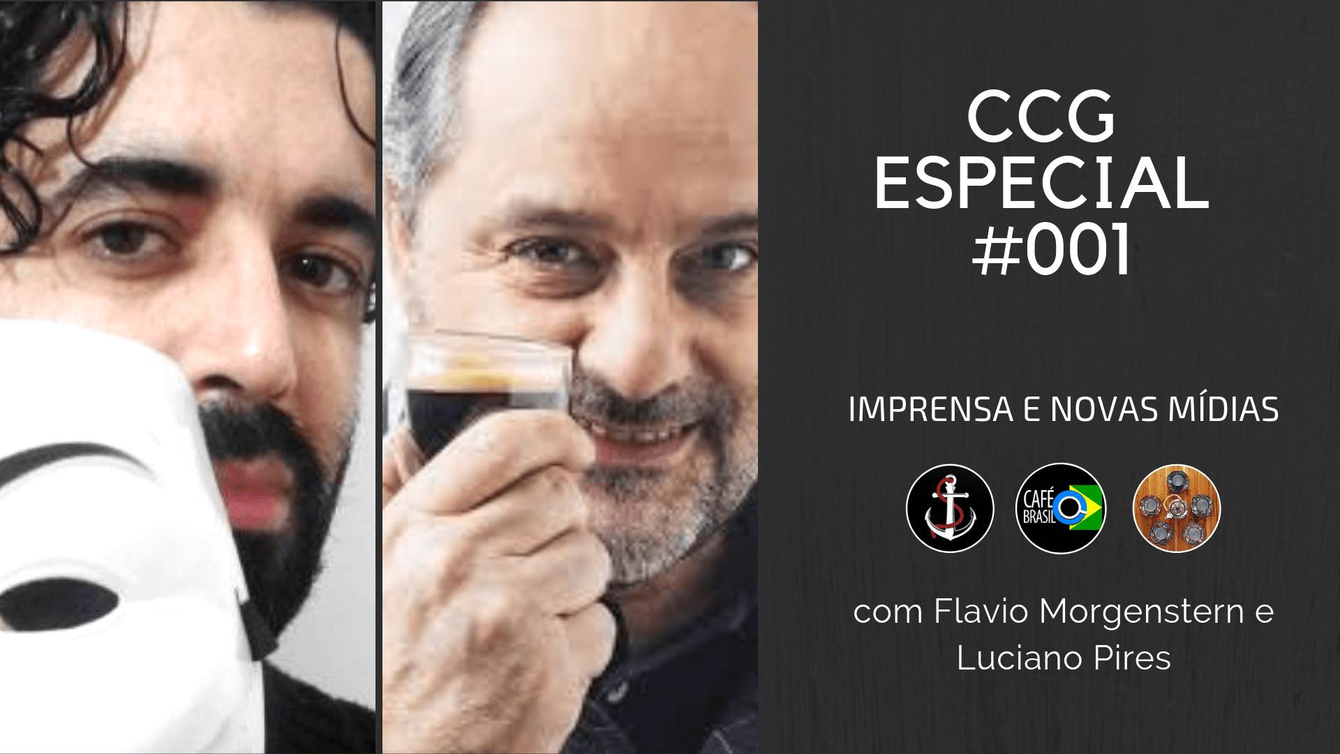 Flavio Morgenstern Luciano Pires Cha com a gente guten morgen Café Brasil podcast