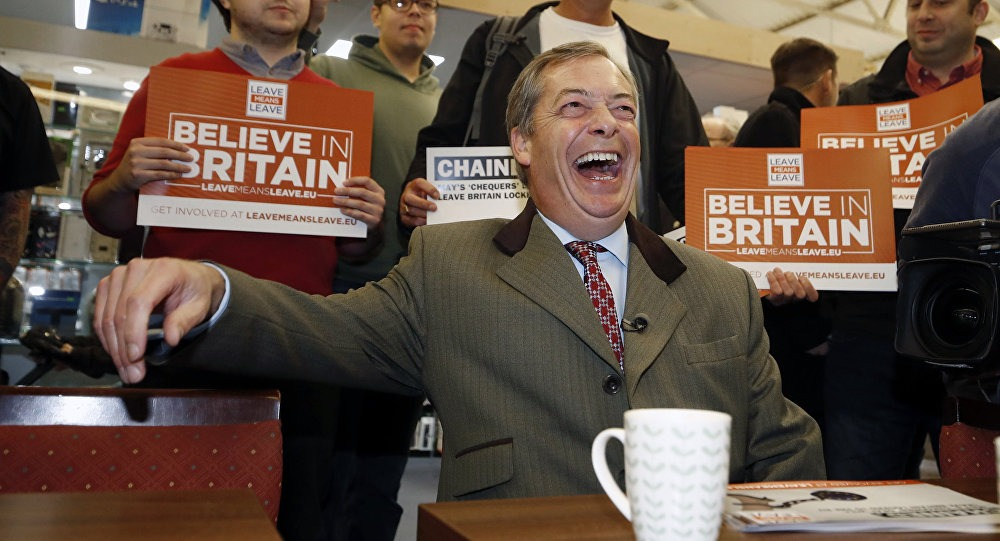 brexit party - nigel farage - união europeia