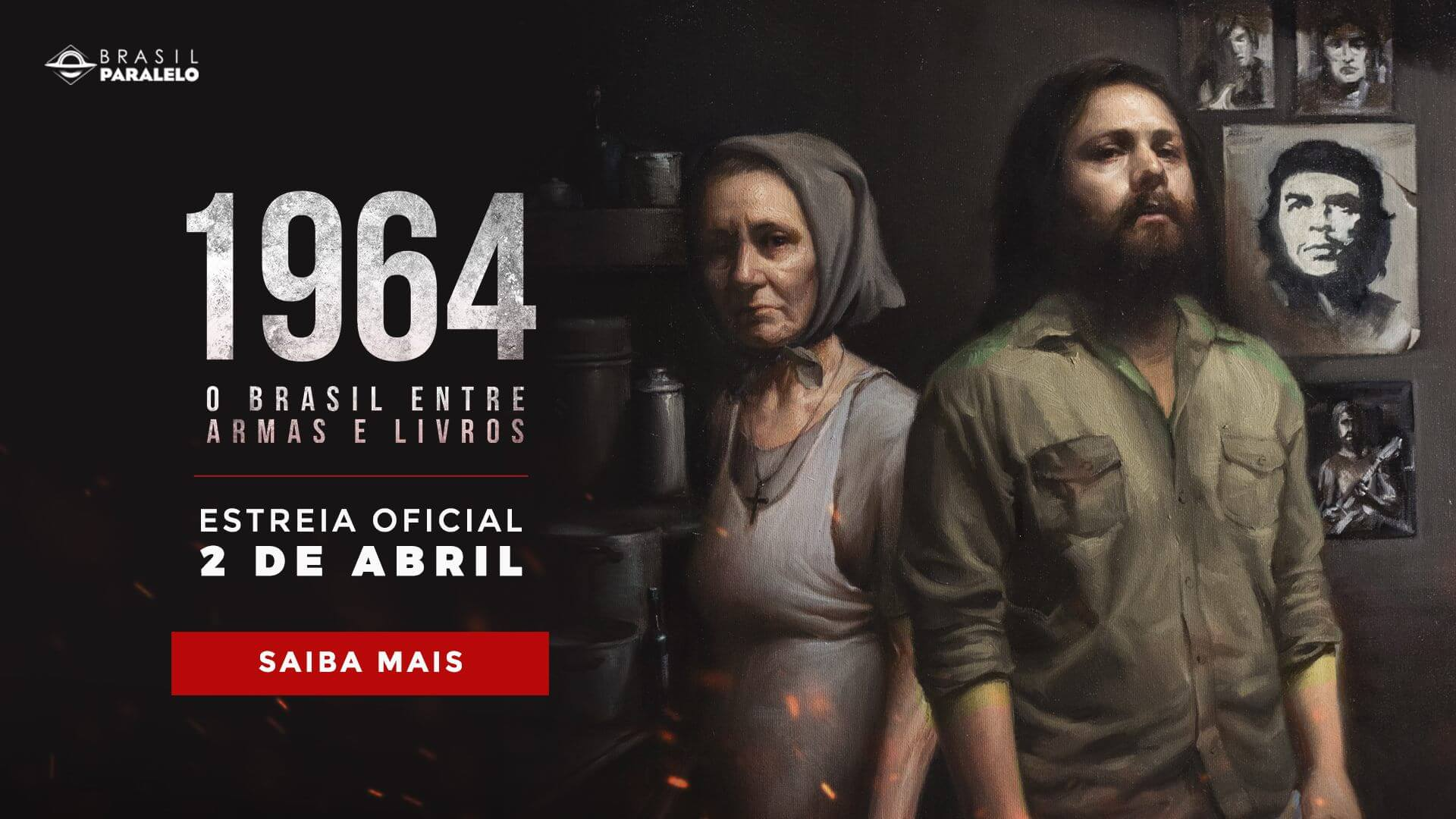"""Resultado de imagem para 1964 – O Brasil entre armas e livros"""""""
