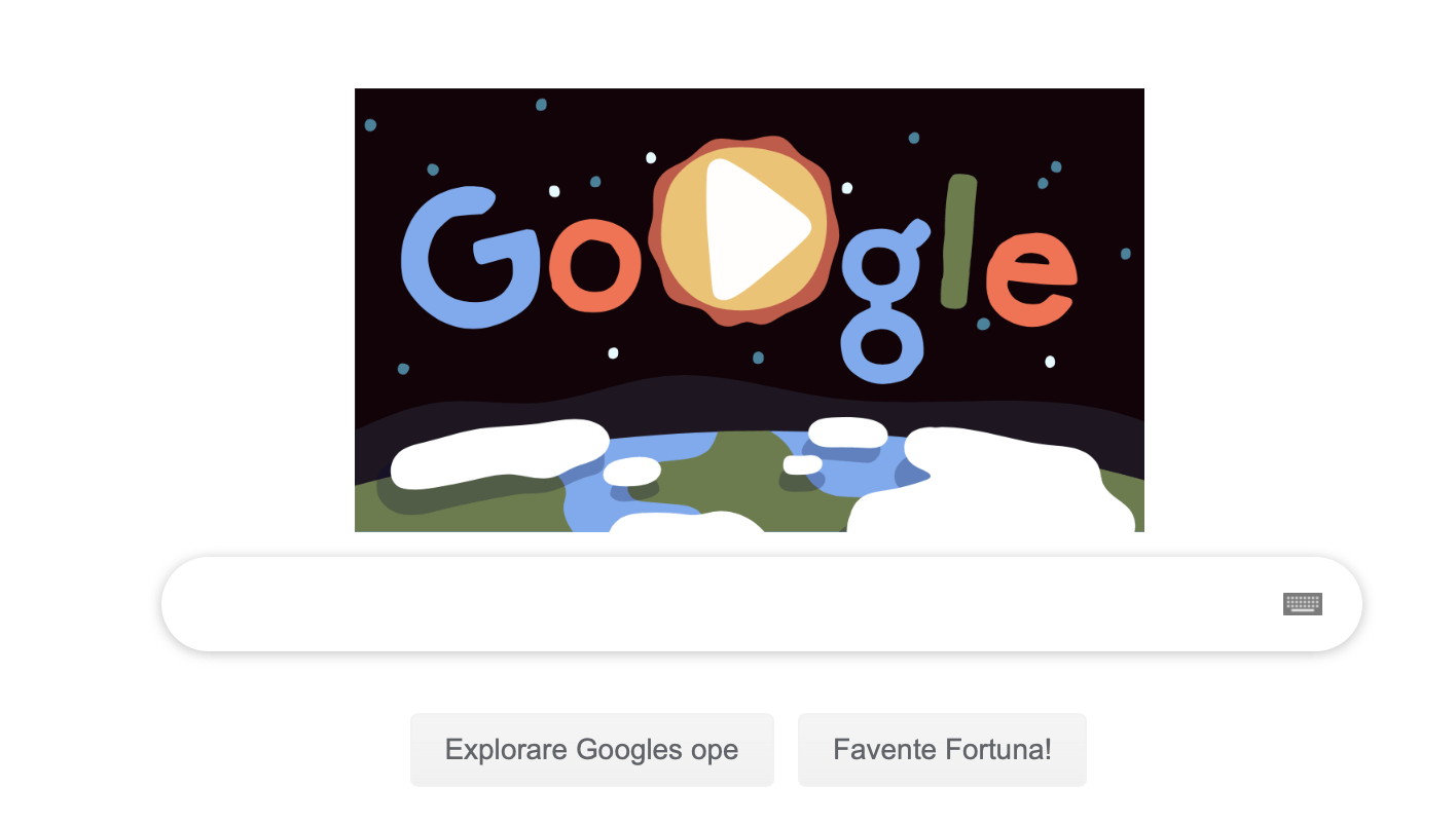 Doodle Dia da Terra