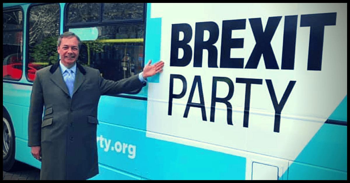 brexit party - nigel farage - união europeia
