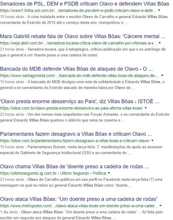 Mídia - Olavo - Villas Boas
